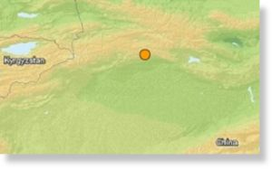 Terremoto 5,4 grados en China