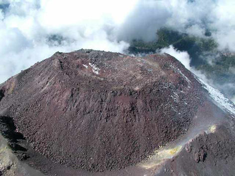 volcán Colima