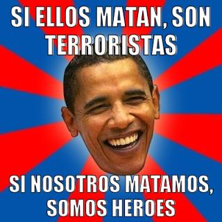 Obama asesino