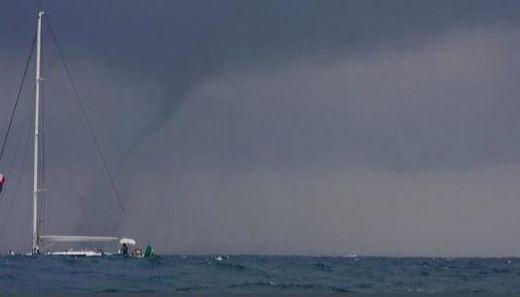 Un conato de tornado en el saler espa a cambios - Tornados en espana ...